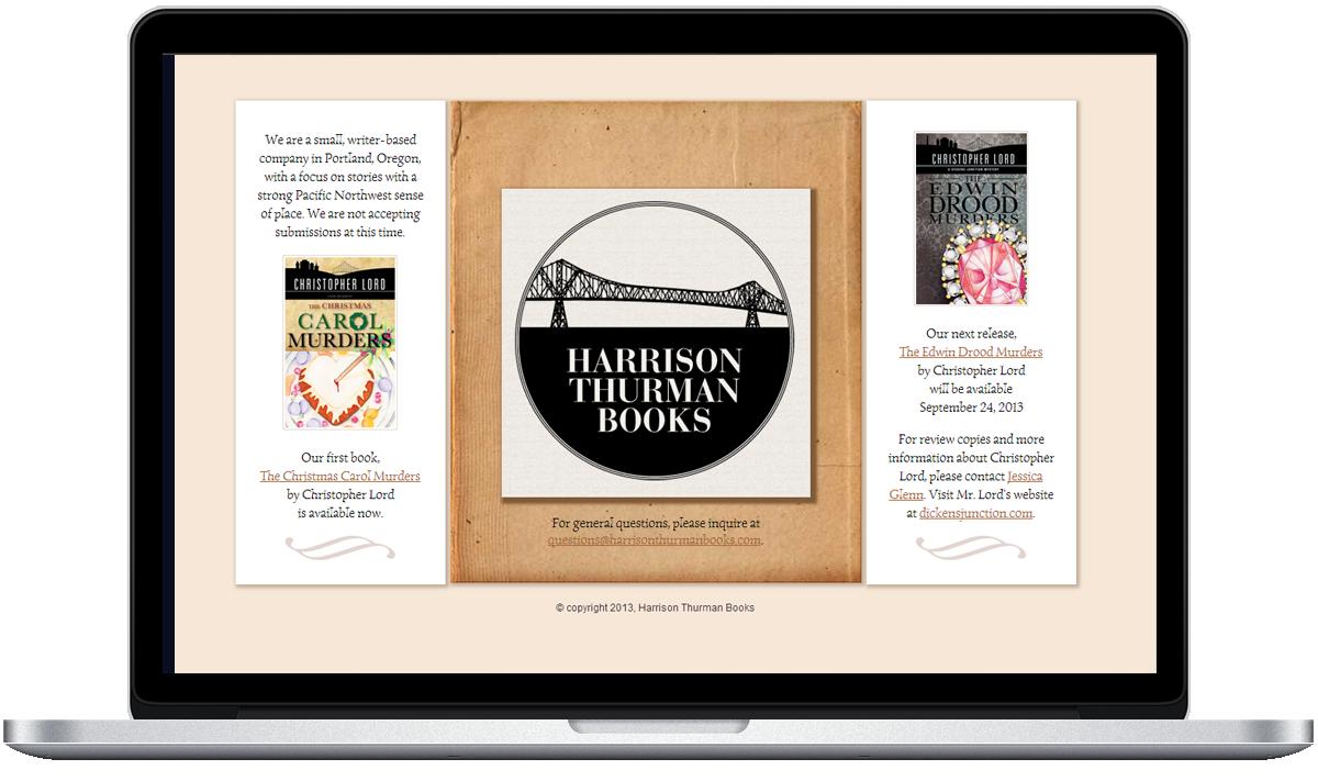 Harrison Thurman Books