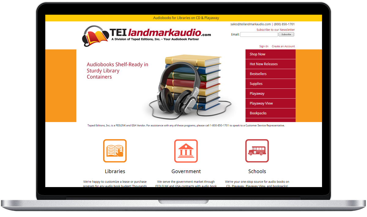 TEI Landmark Audio