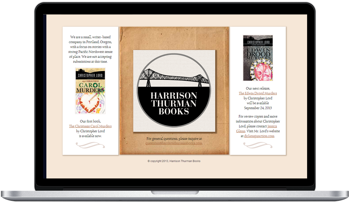 Harrison Thurman Books