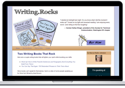 Writing Rocks