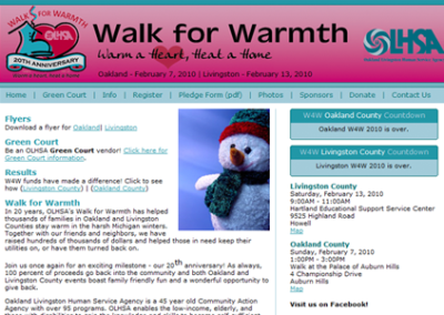 WalkForWarmth